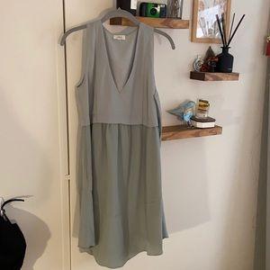 Blue/grey Aritzia dress